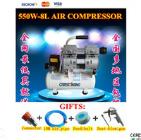 Compressor Air compressor 220V Free Shipping Air Compressor 550W 1380r Min 8L For Air Bubble Removing Machine LCD refurbishment