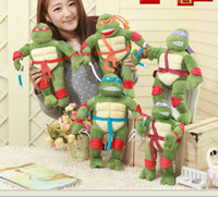28cm cartoon Teenage Mutant Ninja Turtles plush toys stuffed...
