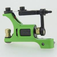 1 Piece tattoo gun frames - rotary tattoo machines guns alloy frame for tattoo supplier green color