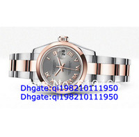 Luxury rose water - original box AAAA quality ladies Luxury mechanical Watches series Rose Gold Stainless Steel Wristwatch