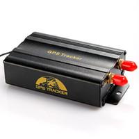 Wholesale Discount SIM Dual Card Port GPRS GSM Vehicle Car GPS Tracker Remote Control Tracking Central Alarm Google Map B K889