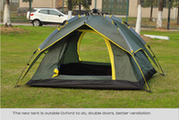 Wholesale Hot sale person automatic camping tent outdoor tent high class tent one second auto tent