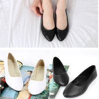 ballerina slippers - 2015New Fashion Ladies Womens Ballet Ballerina Bridal Dolly Shoes Flat Pumps Slipper Fashion ex45