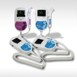 Wholesale CE FDA Sonoline C Mhz Mhz Fetal Doppler Home amp Hospital Use Baby Heart Monitor Color display With Free Gel