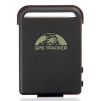 Gps Tracker   New Mini Portable Car GPS Tracker Vehicle Tracking Monitor System GSM Alarm Micro SD Card Slot Anti-theft Wholesale K708