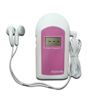 baby sound angelsounds - Home Use Large LCD Display Portable AngelSounds Fetal Doppler Baby Heart Rate Doppler Device For Pregnant Women Baby Sound B
