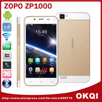 35Phone 5.0 Android 5.0 inch ZOPO ZP1000 MTK6592 Octa Core Cell Phones 1.7GHz IPS Capacitive Screen 1280x720 1GB 16GB 14.0MP Android 4.2 DHL free shipping