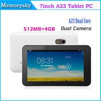 Dual Core best allwinner tablet - Best Quality inch A23 dual core dual camera tablet pc android RAM GB flash light camera Tablet PC