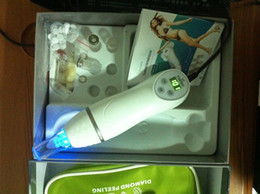 Wholesale handheld diamond tip microdermabrasion machines with vacuum blackhead removal Photon skinc are beauty device