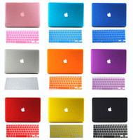 Wholesale Rubberized Hard Case Keyboard Cover Sleeve For quot quot Retina Display Macbook Pro A1425 A1502
