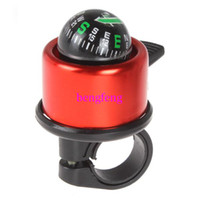 Yes Electric Horn Red 3pcs lot Red Metal Bell Ring Electronic Alarm Horn For Bike Bicycle Cycling Safety Warning