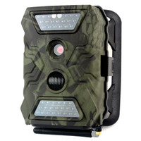 Wholesale Infrared Night Vision Hunting Camera Trail Scouting Camera GPRS MMS SMS Control Megapixels P IR LEDs nm W2008G