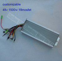 48v 45A 1500w 48V 1500W 18 mosfet Motor brushless controller for EV electric bike BLDC controller for e-bikeG-K018