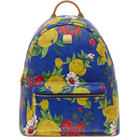 Wholesale MCM bag travel bag shoulder bag backpack punk style Flower series