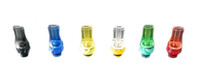 acrylic plastic material - KVS Acrylic Flat Drip Tips Colorful Plastic Material Transparent Drip Tip eGo Atomizer CE4 CE5 CE6 Mods EVOD DCT Vivi Nova Mouthpieces