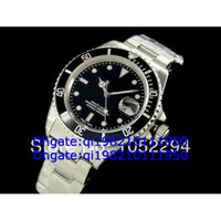 Men's eta swiss movement - high qaulity AAAA black with swiss eta movement watches men men s watch