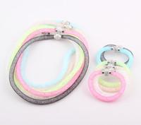 Wholesale 2014 NEW Shamballa Crystal Disco Ball Magnetic Clasp Necklace Bracelet Jewelry Set ZST43