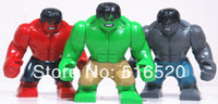 Wholesale Hulk Large Figures Toys Colors cm High Marvel Super Hero The Avengers Action Figures Classic Toys amp Hobbies Building Blocks