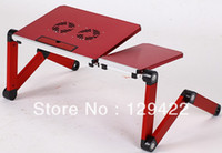 School Furniture Computer Desk Commercial Furniture Free shipping laptop table for bed,laptop table for couch,folding laptop table,laptop lap desk,computer stands