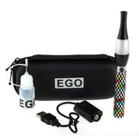 Metal Yes EGO Quit Smoking EGO T6 3.5mL Vase Style Atomizers Colored Dots 900 mah Rechargeable Battery Healthy Electronic Cigarette