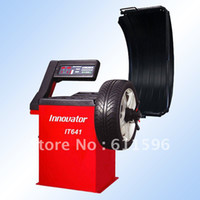 automatic wheel balancer - Automatic wheel balancer equipment IT641 with CE