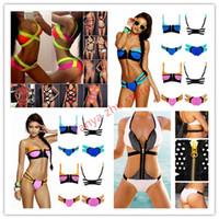 Cheap Bikinis Set Bandage bikini Best Spandex Panelled hot sexy