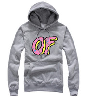 Cotton Cardigan Hoodies,Sweatshirts new 2014 free shipping autumn winter skateboard Odd Future Harajuku brand donut pullover extreme sports hedge hoody