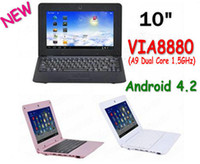 Wholesale 2015 New inch Netbook VIA8880 Dual Core UMPC Android GHz Wifi M RAM GB HDD Camera Mini Laptop