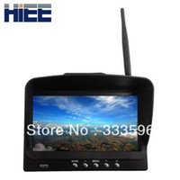 Airplanes Antennas Metal RM5832: 7 inch FPV monitor wireless vga transmitter 5.8 GHz Diversity LCD Screen Receiver Monitor