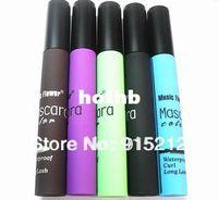 purple black hair color - 2014 New Color Multicolor Black Coffee Purple Green Blue Eyelash Brush Streak Hair Mascara