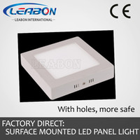 No 85-265V 3014 Super thin bright 18W LED Square Surface Mounted High Rendering Index Epistar chips Panel Flat Light SDL-YM220