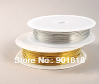 Other Jewelry Findings Yes 15meter lot 0.4mm Color Copper Wires Beading Wire DIY Jewelry Findings Brass Ropes Cords