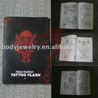 other Temporary Tattoo BKS050 Tibetan Buddhism TATTOO FLASH A3 tattoo book free shipping