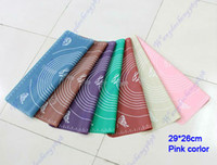Wholesale 29 x cm Silicone Roll Cut Mat Square Rolling Cutting Pad Fondant Cake Boards Decorating Tool