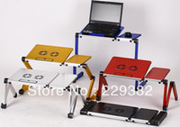 wood School Furniture Computer Desk High Quality Notebook Table Laptop Stand Laptop Holder Folding Laptop Table Computer Desk Bed Nottable Laptop