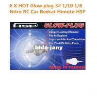 rc nitro engine - 6pcs N3 Glow Plug Spark Plug Hot For Nitro Engine Traxxas OS RC Car Redcat Himoto HSP