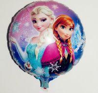 balloons sell - Hot selling cmx45cm Frozen bubble balloon new Frozen balloons party decoration foil balloons