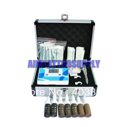 Wholesale Pro Permanent Makeup Eyebrow Machine kits with makeup ink