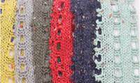 Wholesale Cheap Acrylic Fabrics Textiles for cardigan sweater in winter Jacquard Black Fabrics Material C015
