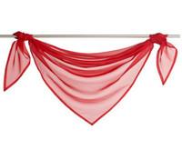 Wholesale Multicolor Curtain Triangle Head Curtain Fashion Curtain Windows Screening ZHW058