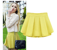 Shorts Women Mini European and American leisure divided skirts 2014 women's clothing Female shorts hot pants pants skirt in summer