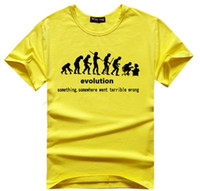 Men big geek - Summer Men s T shirt The BIG BANG Sheldon Cooper The Evolution Of Man Geek Logo T shirt Men Short Sleeve T Shirts