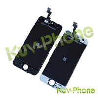 bar converter - iPhone5S LCD assembly glass iphone5S LCD digital display with touch screen digital converter replacement white and black