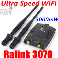 Wholesale Password Cracking USB Wireless BlueWay BT N9100 Beini free internet High Power mW Dual Antenna Wifi Decoder Ralink