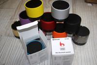 Wholesale S10 Metal Mini Portable BeatBox Hi Fi Bluetooth Wireless Speaker TF Slot Handfree Mic Stereo Portable Speakers For iPhone iPad s3 s4 note2