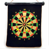 Wholesale 17inch Magnetic Pro Style Bristle Dart Board Set with Darts and Board