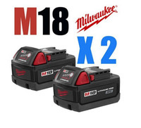 Wholesale 2 Milwaukee M18 XC REDLITHIUM Lithium Battery Mah