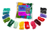 Wholesale DIY LOOMS best selling Hot Sell Color Rainbow Loom Rubber Band Package S Clip hook The best Christmas gifts