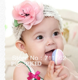Wholesale Baby Girl s Lace Headband Headwear Girls Topknot Hair Accessories Infant Hair Band