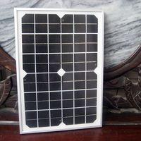 10w solar panel - 10 Watt Volt Solar Polycrystalline Solar Panel W V